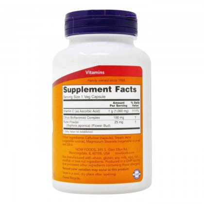Now Foods, C-1000, With 100 mg of Bioflavonoids
